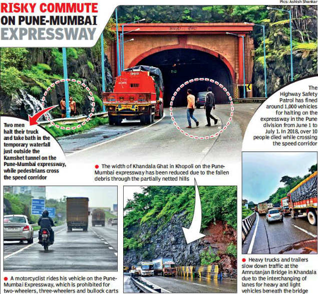 Highway safety patrol catches only 60 for overspeeding on Pune