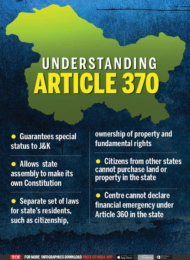 Jammu and Kashmir latest updates: Article 370 to be scrapped