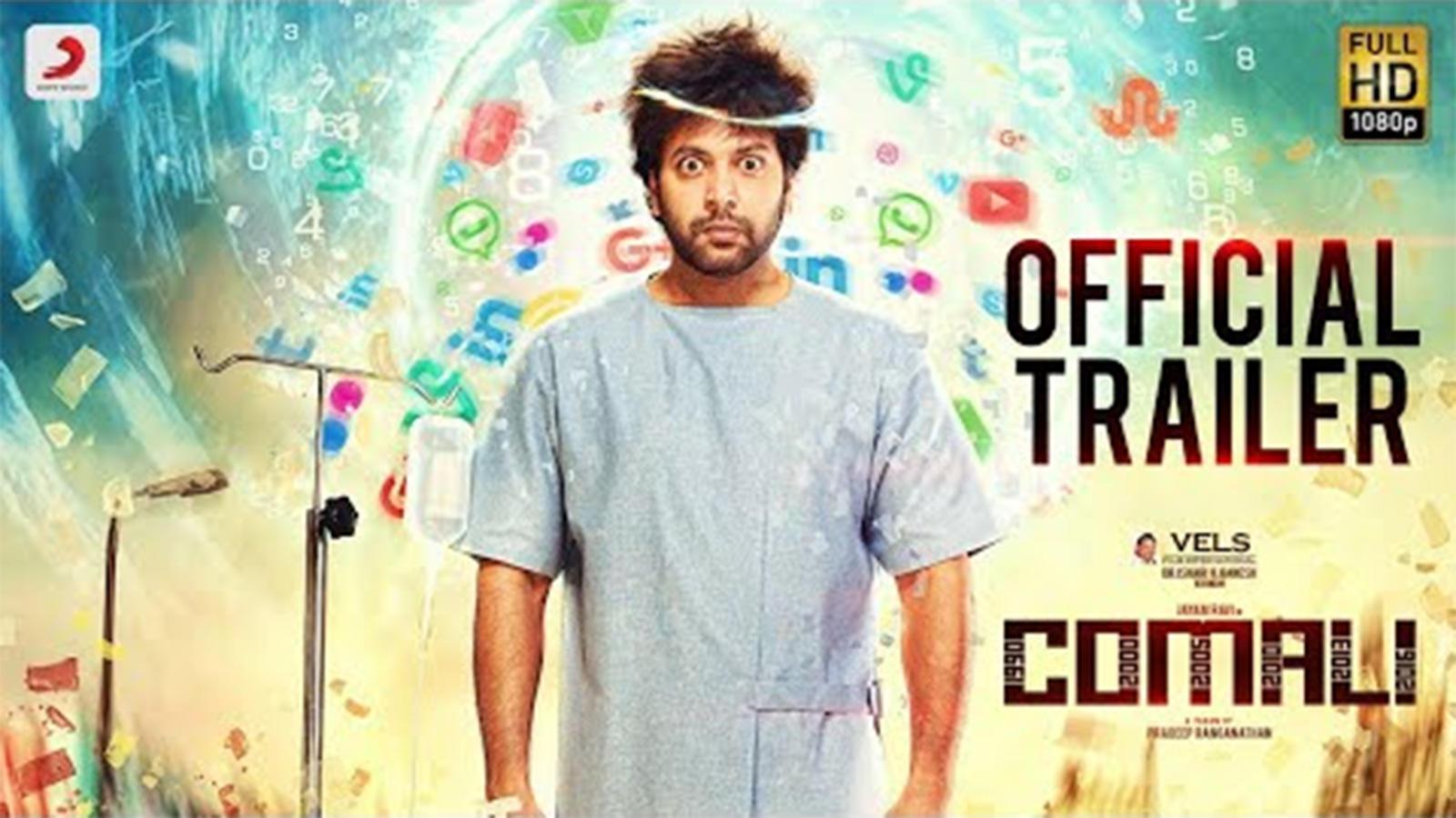 Download Comali 2019 Tamil Full Movie In HD