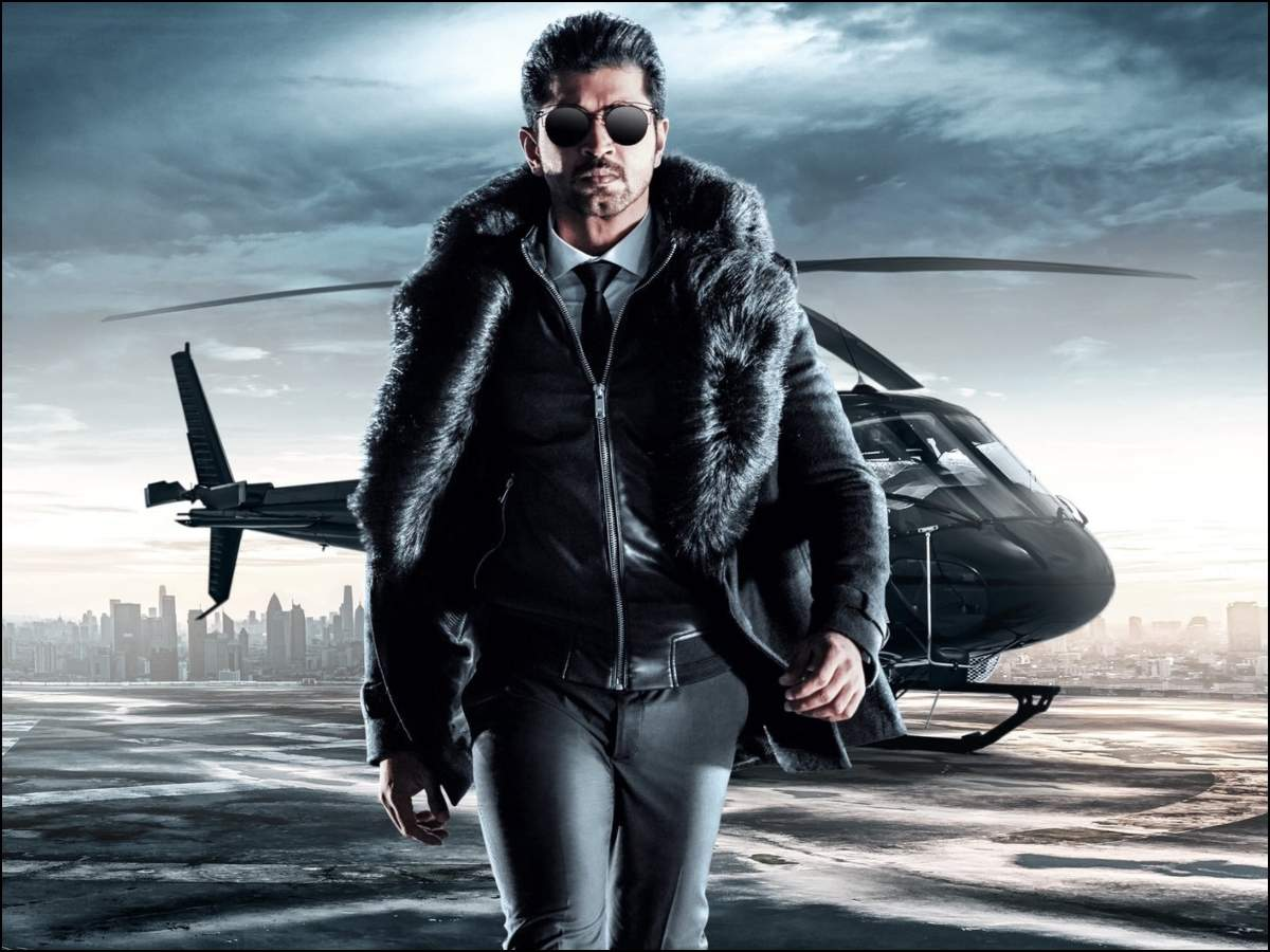 Image result for 'Saaho' releases another poster, Arun Vijay's first character poster appears
