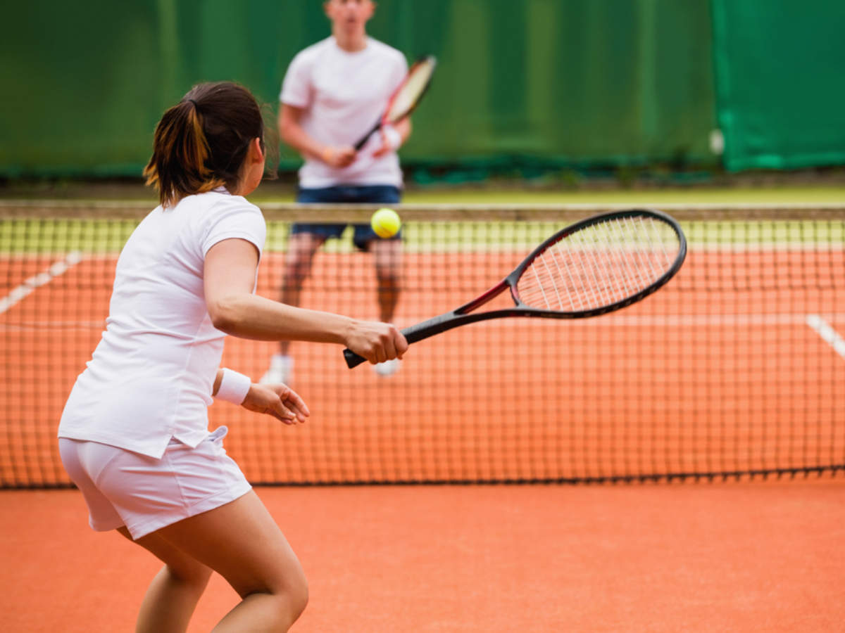 Weight loss: How can you lose weight by playing tennis - Times of India