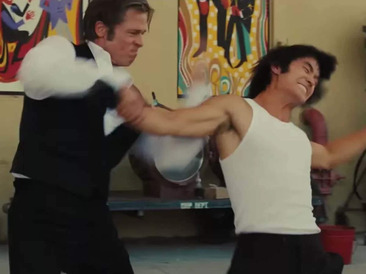 Quentin Tarantino changed Bruce Lee fight scene after Brad Pitt