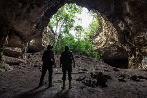 Buddhist cave from 1st century BC unearthed in Andhra Pradesh