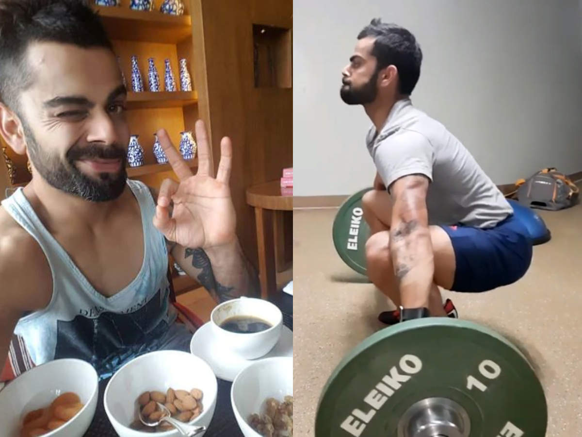 Weight Watchers, here's some inspiration! Virat Kohli hasn't had a