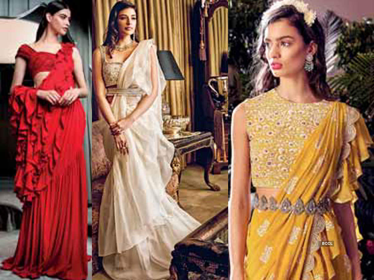 The thrill of a frill - Times of India