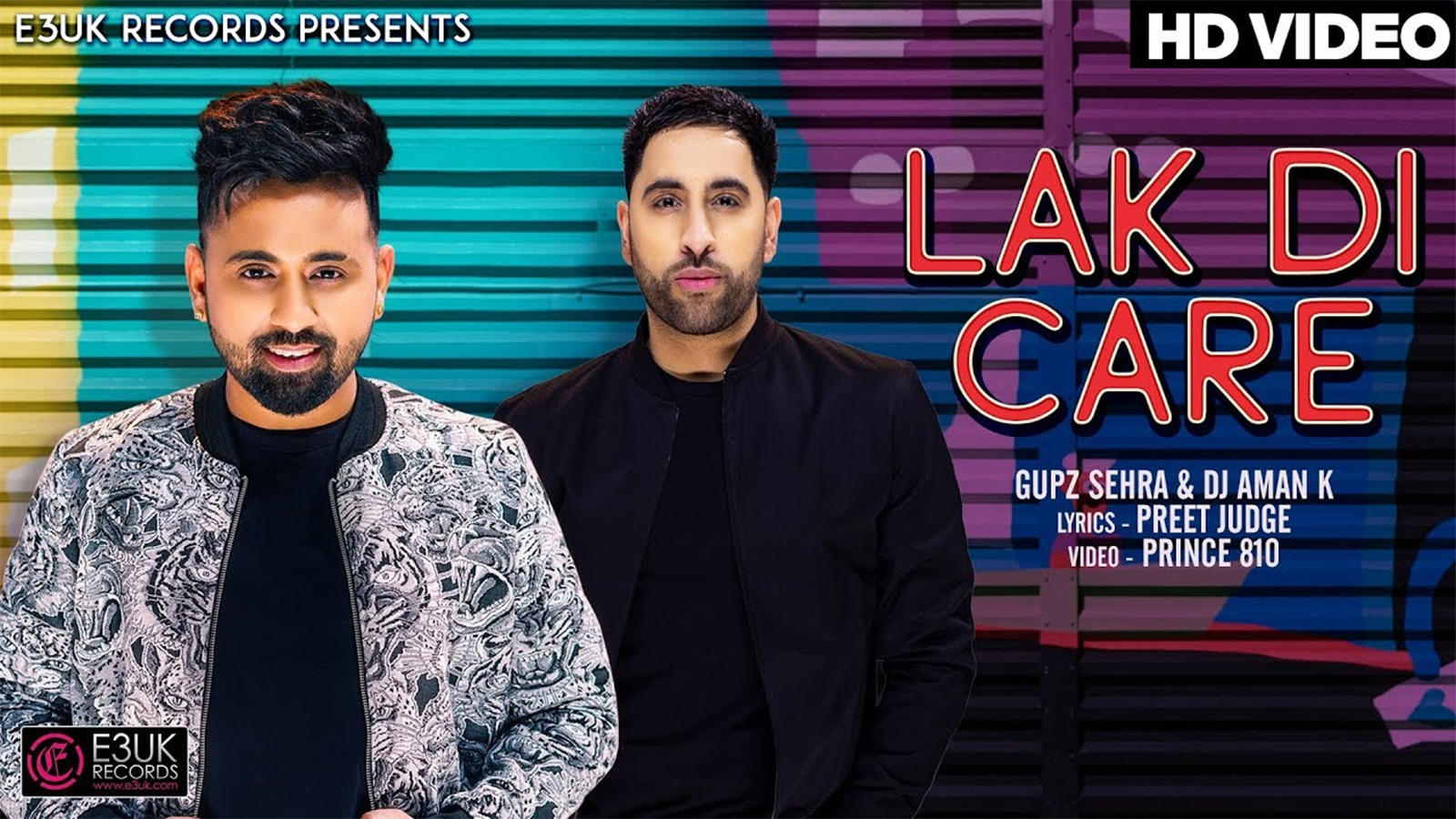 Latest Punjabi Song 'Lak Di Care' Sung By Gupz Sehra | Punjabi Video