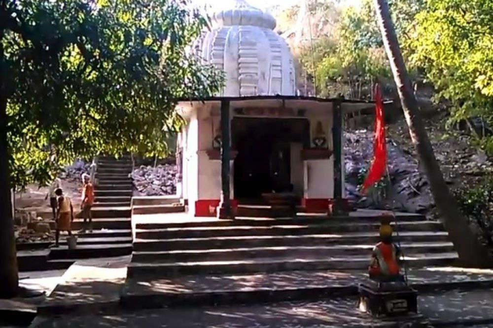 Katasar Ghat and a mystical temple of goddess Durga near Deogarh