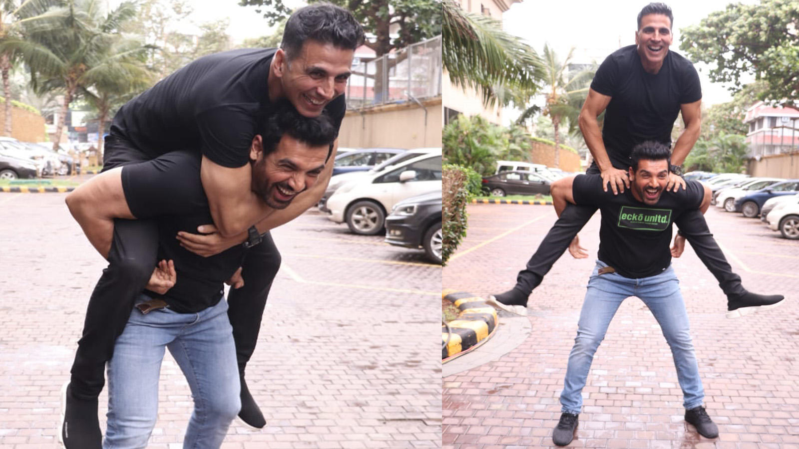 'Desi Boyz' in town: Akshay Kumar and John Abraham literally have each  others' back!
