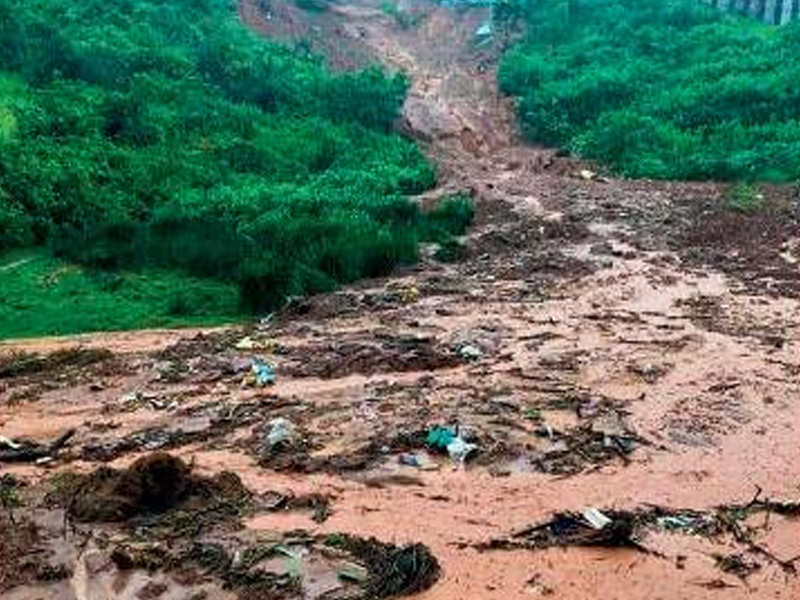 Avalanche deluged with 91cm rain | Chennai News - Times of India