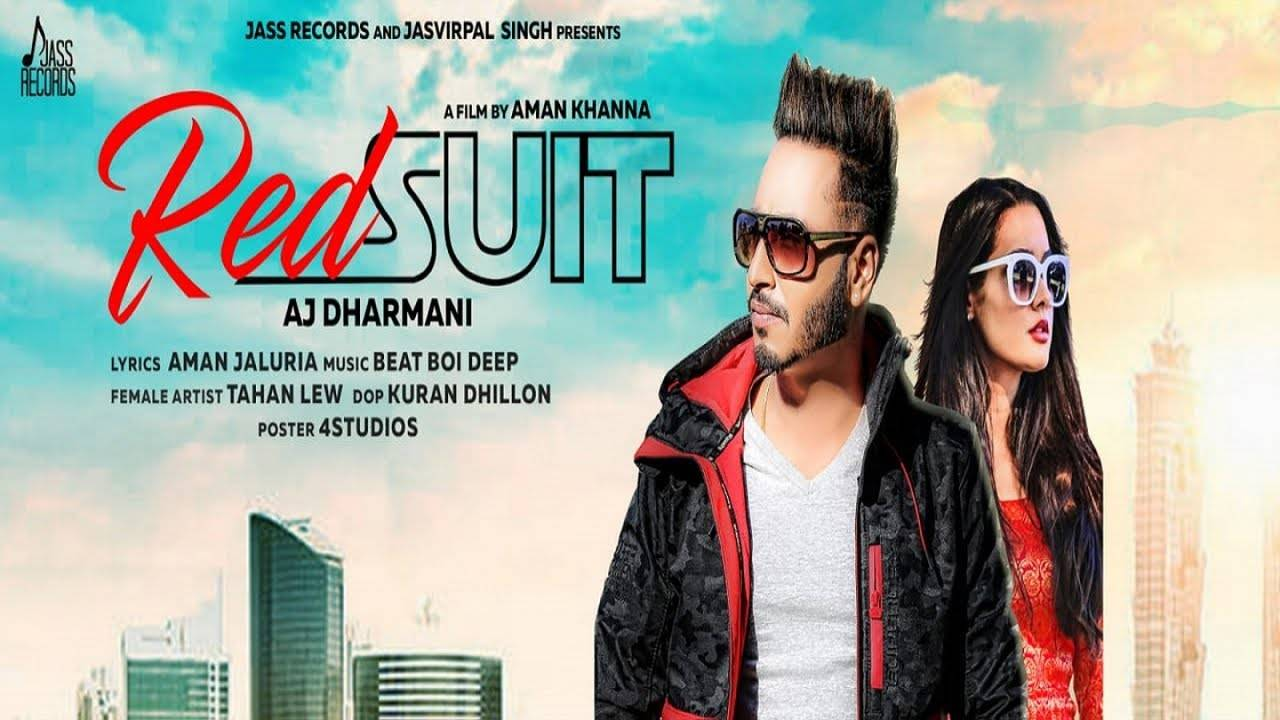Latest Punjabi Song 'Red Suit' Sung By AJ Dharmani
