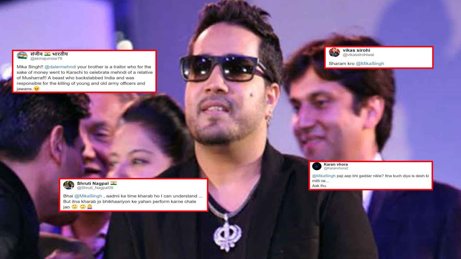 Mika Singh performs at Pervez Musharraf's relative's event in Pakistan,  leaves fans outraged