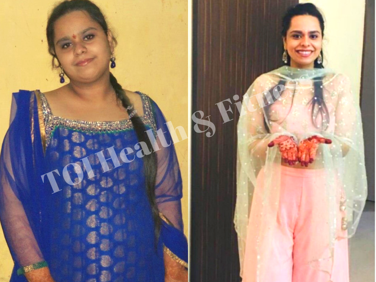 Weight loss story: This girl lost a whopping 35 kilos! Know