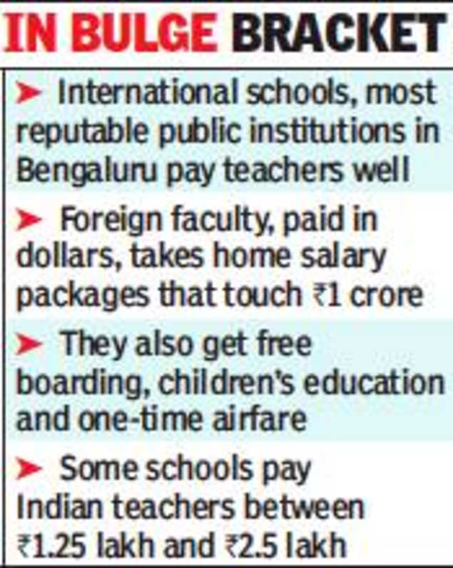 International schools' fat pay brings glamour back to teaching