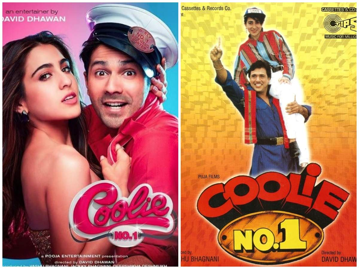 Varun Dhawan and Sara Ali Khan's 'Coolie No. 1' posters out, here's a  throwback to the original Govinda and Karisma Kapoor starrer | Hindi Movie  News - Times of India