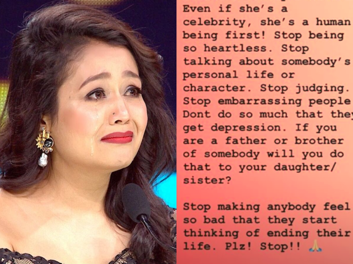 Is Neha Kakkar battling depression? Her new Insta post hints at her troubled state of mind - Times of India