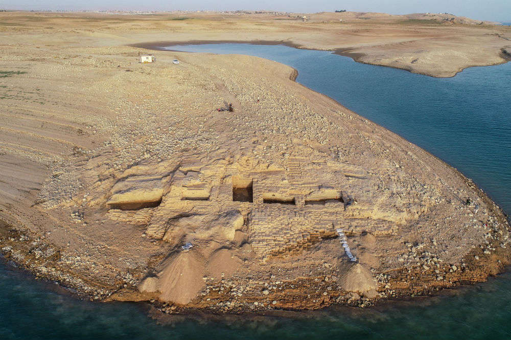 3400-year-old palace from a mysterious kingdom surfaces in Iraq during drought