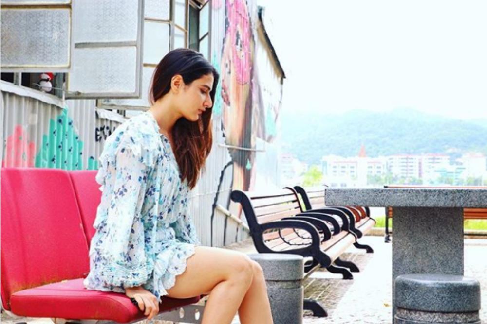 Celeb Travel–Fatima Sana Shaikh, Actor