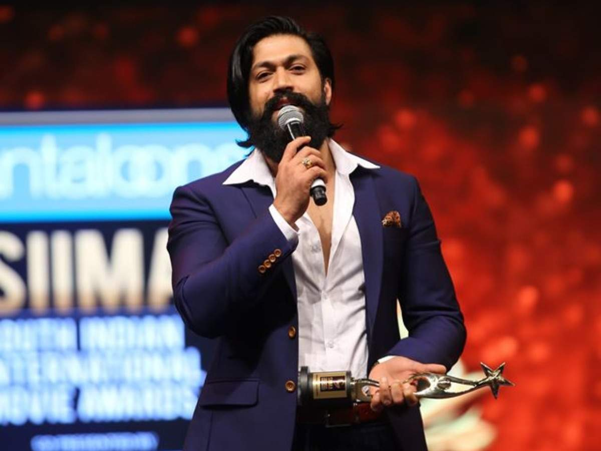 SIIMA 2019: Yash wins best actor for 'KGF' | Kannada Movie