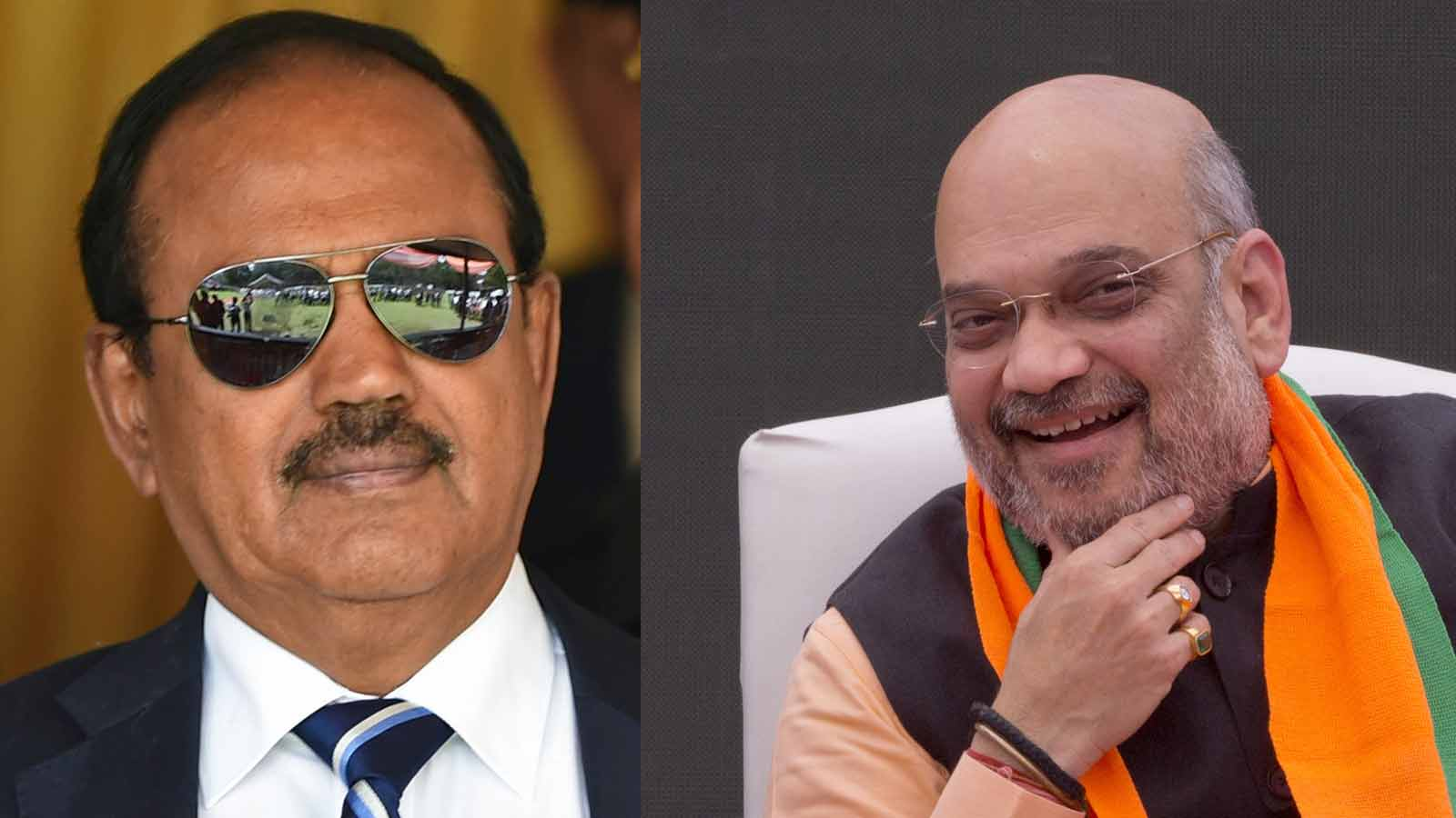 nsa-ajit-doval-briefs-union-home-minister-amit-shah-on-security-situation-in-jk