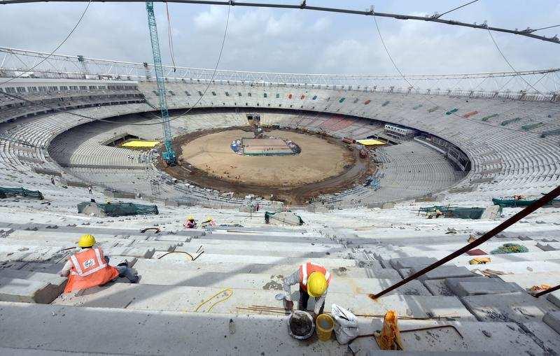 Image result for motera stadium skywalk