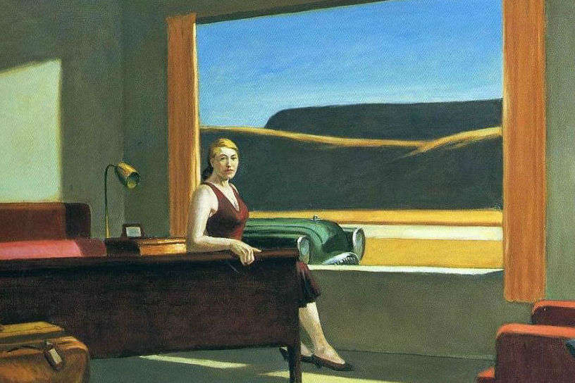 A night of loneliness—spend a night inside Edward Hopper's painting