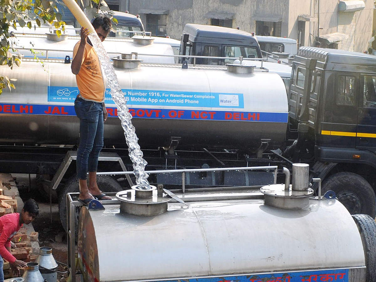 Water supply to be affected in many parts of Delhi: DJB | Delhi News -  Times of India