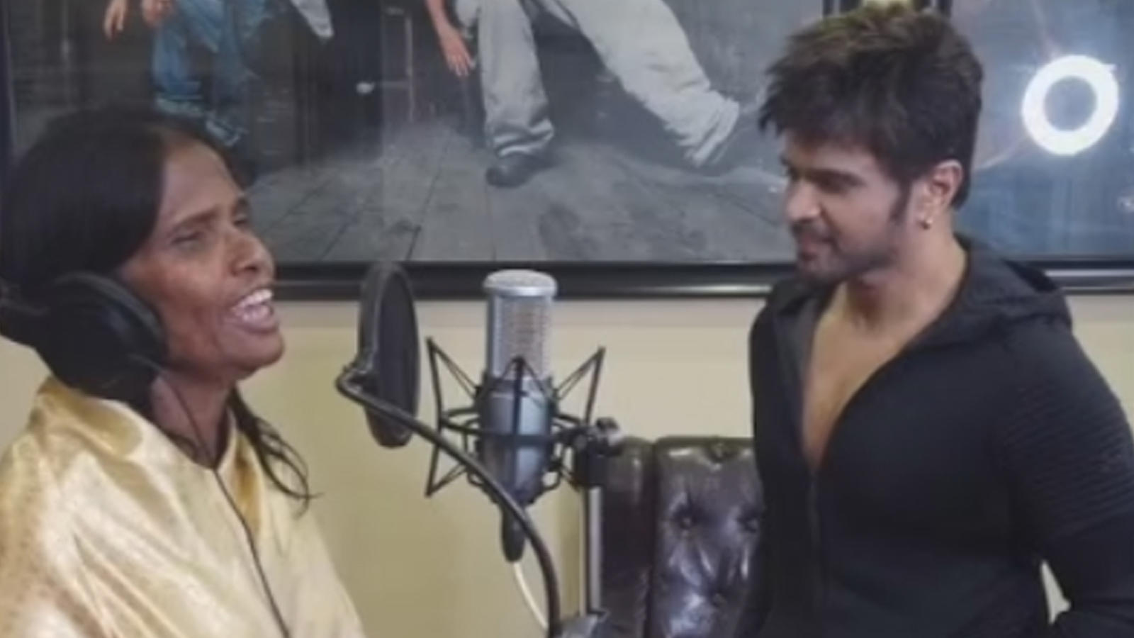 Ranu Mandal, the social media sensation, offered song by Himesh Reshammiya!