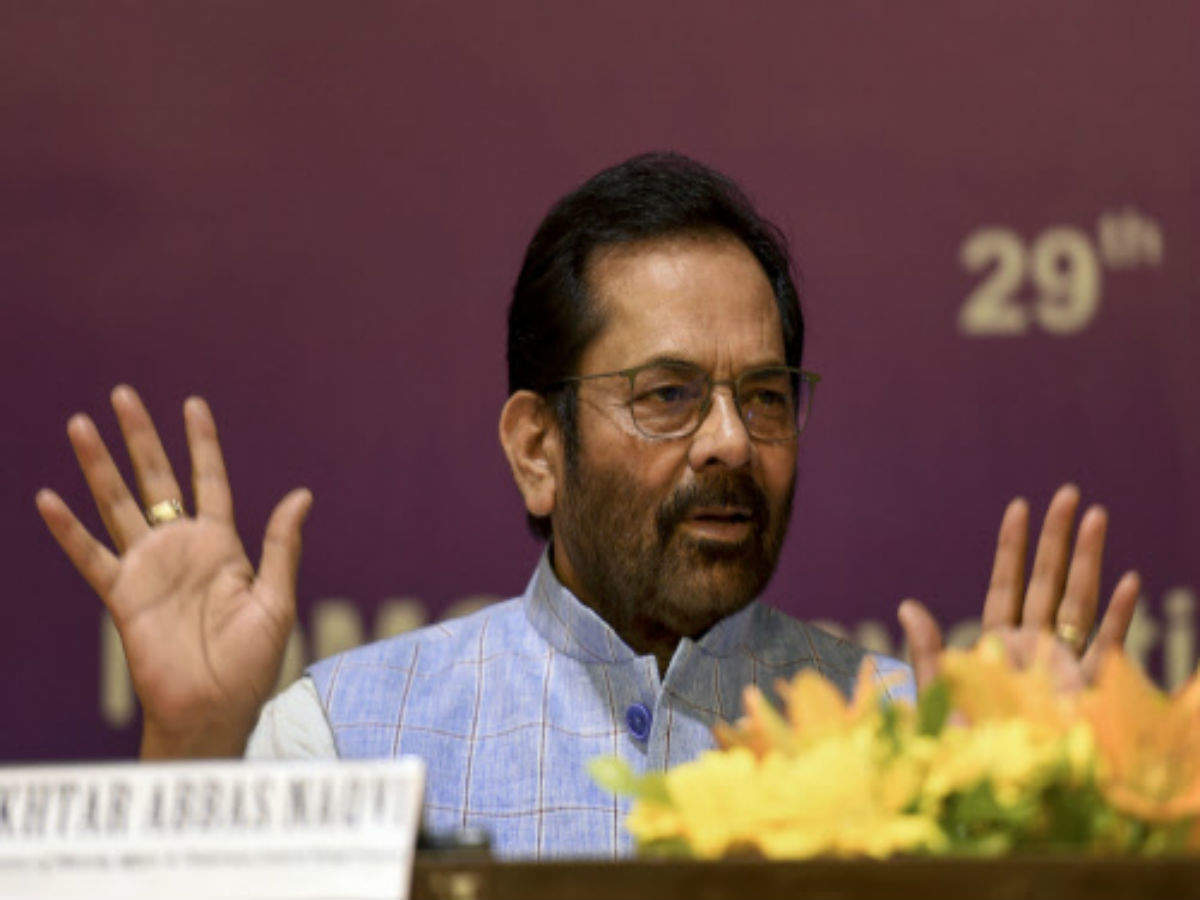 Hate for BJP planted among minorities for 70 years, can't be wiped out in 70 days or 7 years: Mukhtar Abbas Naqvi