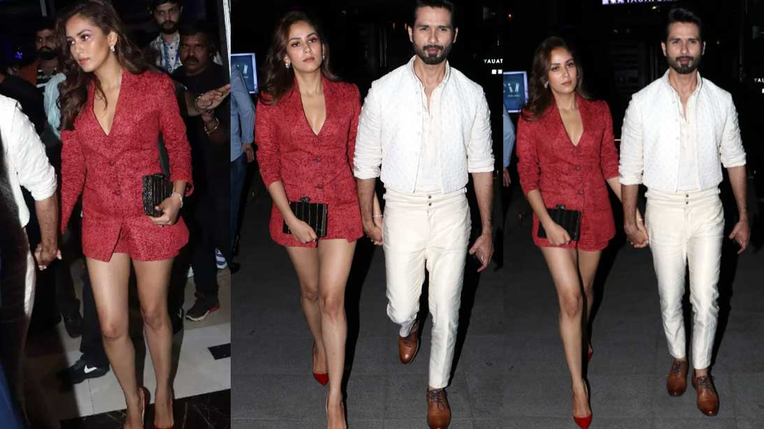 mira-rajput-stuns-in-red-short-pantsuit-as-she-walks-hand-in-hand-with-hubby-shahid-kapoor