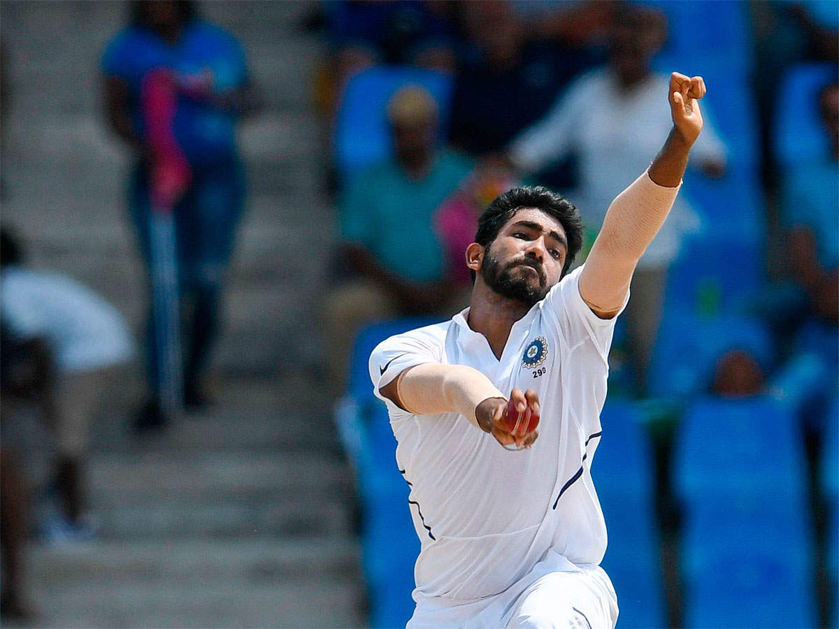How Jasprit Bumrah dismantled Windies batting with late away movement    Cricket News - Times of India