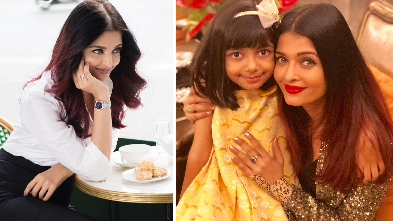 Aishwarya Rai Bachchan sees to it that darling daughter Aaradhya Bachchan  carries on her legacy with this important beauty tip!