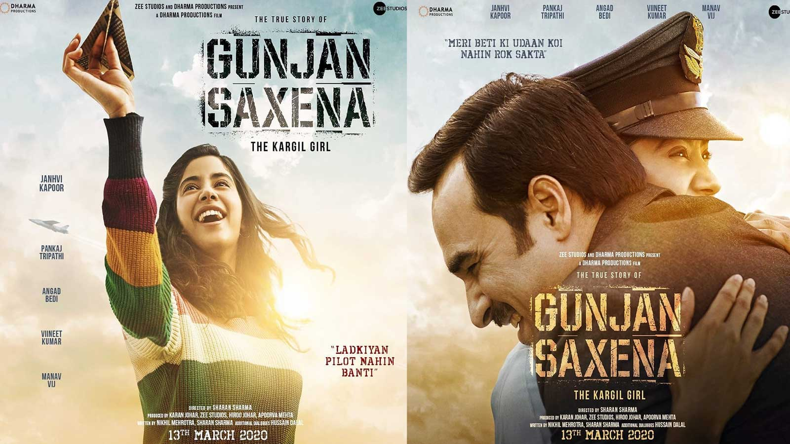 Janhvi Kapoor Starrer Gunjan Saxena The Kargil Girl Is A Journey About Ladkiyan Pilot Nahin Banti Hindi Movie News Bollywood Times Of India