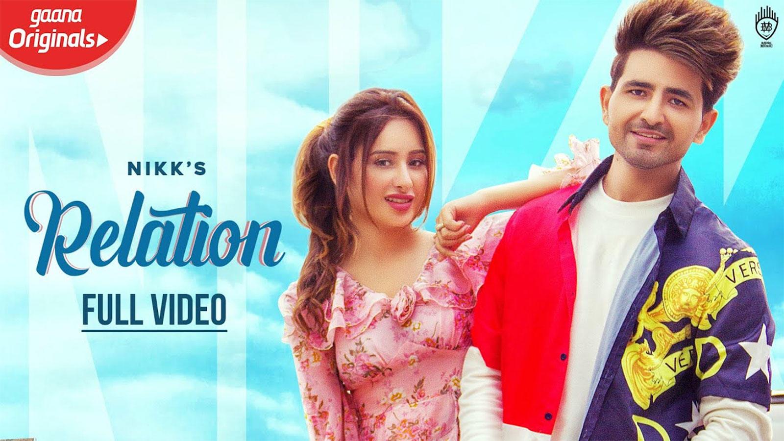 Latest Punjabi Song 'Relation' Sung By Nikk Featuring Mahira Sharma