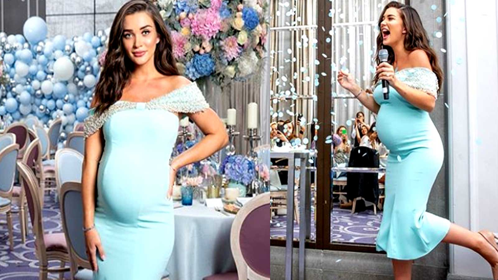 Amy Jackson Shares Adorable Pics From Baby Shower Reveals Name Of
