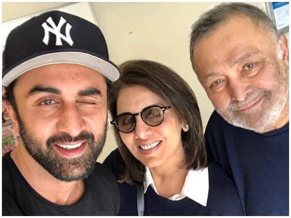 This is how Ranbir Kapoor reacted when Neetu Kapoor broke the news of Rishi  Kapoor's cancer | Hindi Movie News - Times of India