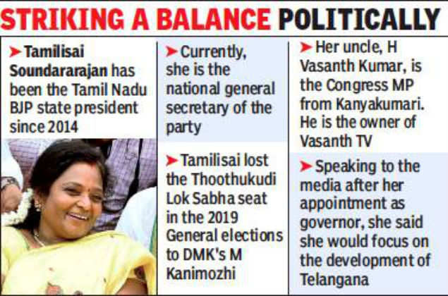 New governor in Telangana: Tough times ahead for ruling
