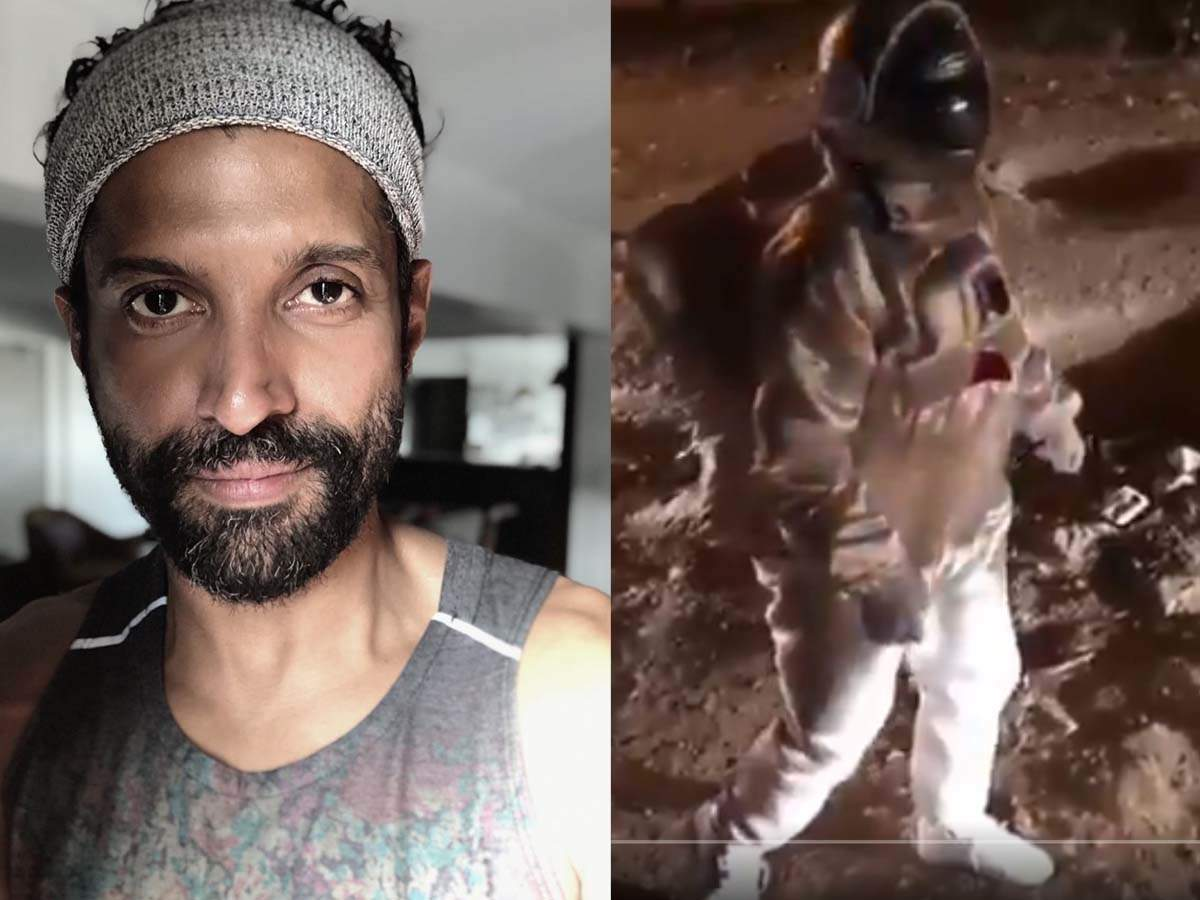 Farhan Akhtar's reaction to the video of a Bengaluru man's