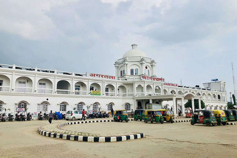 Agartala railway station gets a first-class makeover!