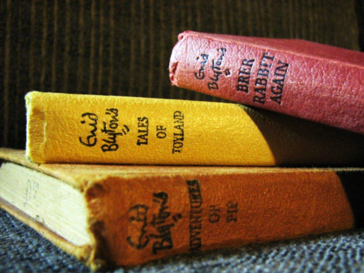 Enid Blyton won't feature on British currency - Times of India