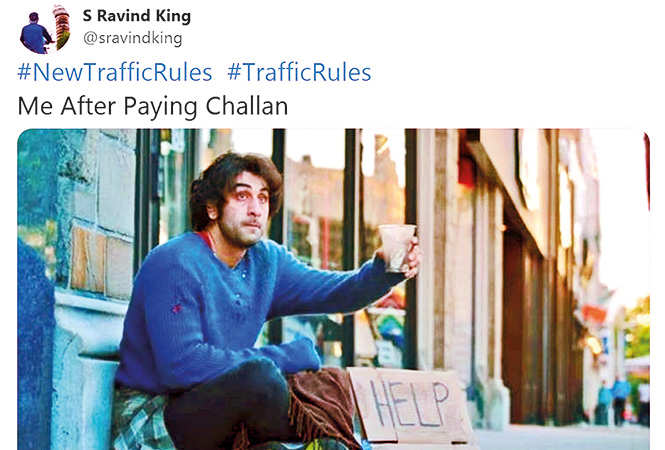 After Rs 23k challan in Gurgaon trends, Rs 27k challan in