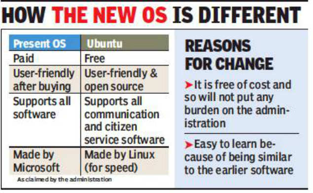Panchkula moving to new OS for lower cost, higher security