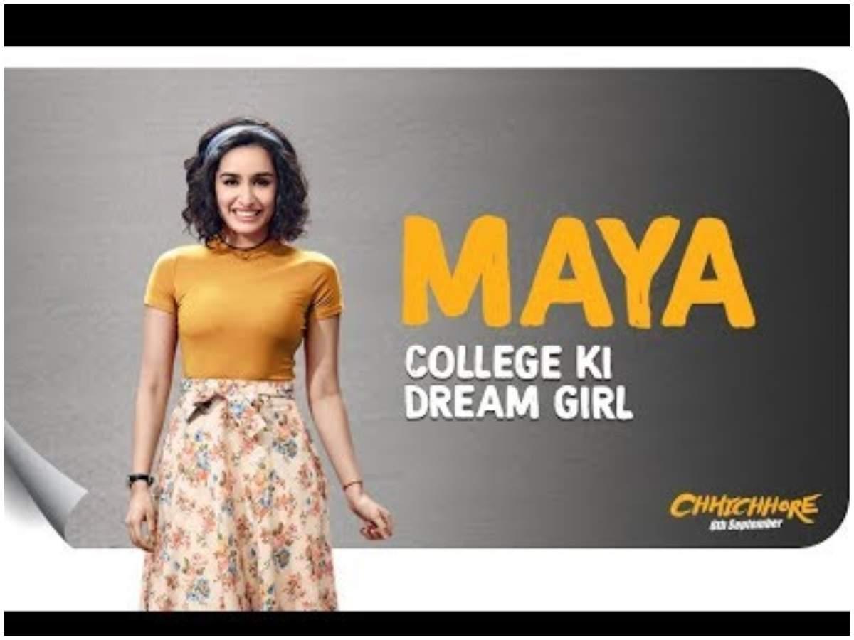 Chhichhore' dialogue promo: Meet Shraddha Kapoor as Maya aka