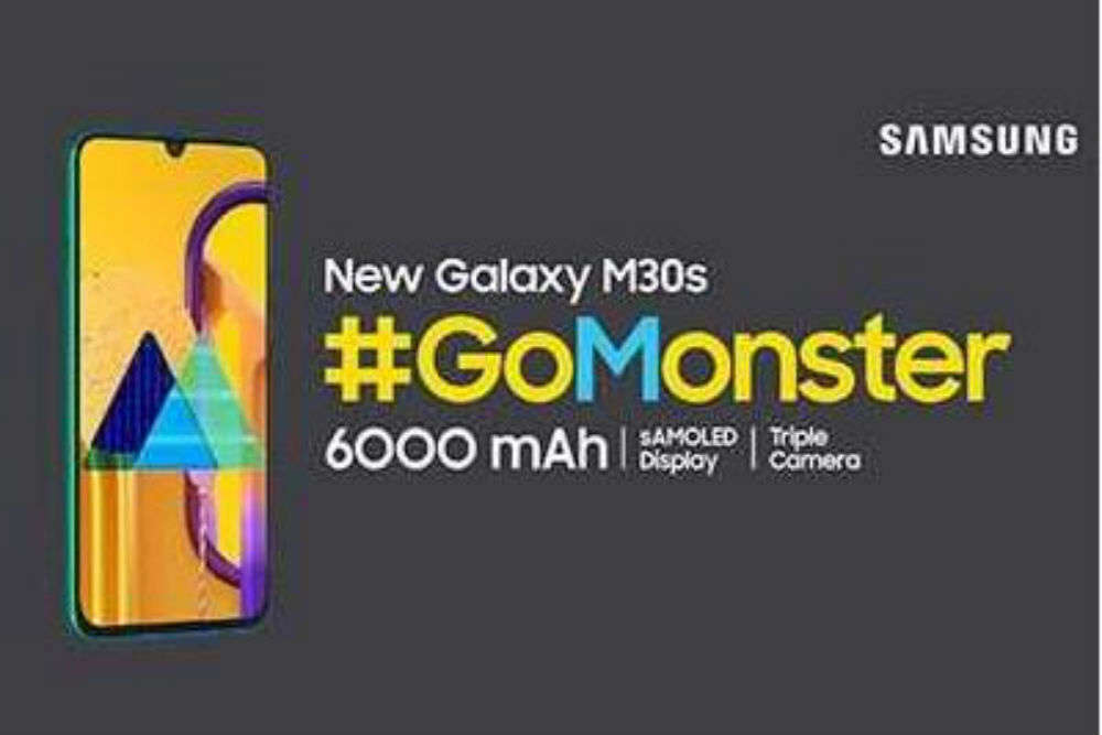 Samsung to #GoMonster: Throws an open challenge to celebs to test the 6000mAh battery on the M30s