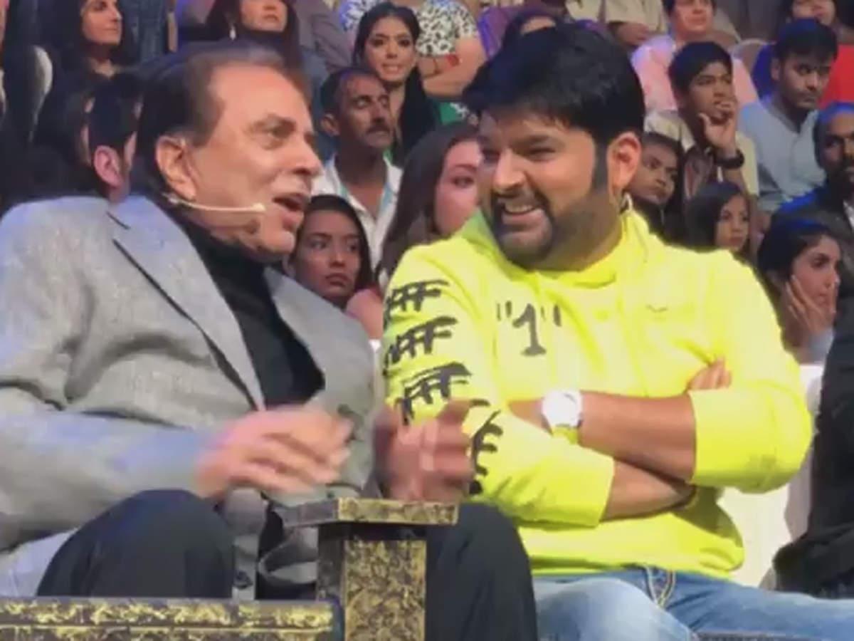 Kapil Sharma has a hearty laugh as Bollywood veteran actor
