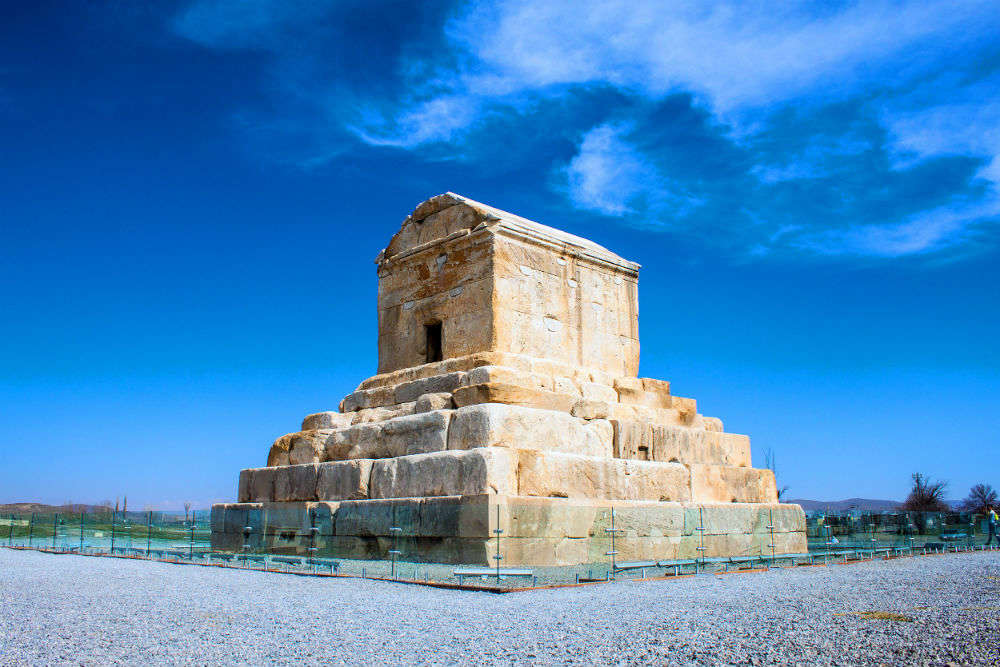 Do you know Tomb of Cyrus in Iran is the world's oldest earthquake resistant structure?