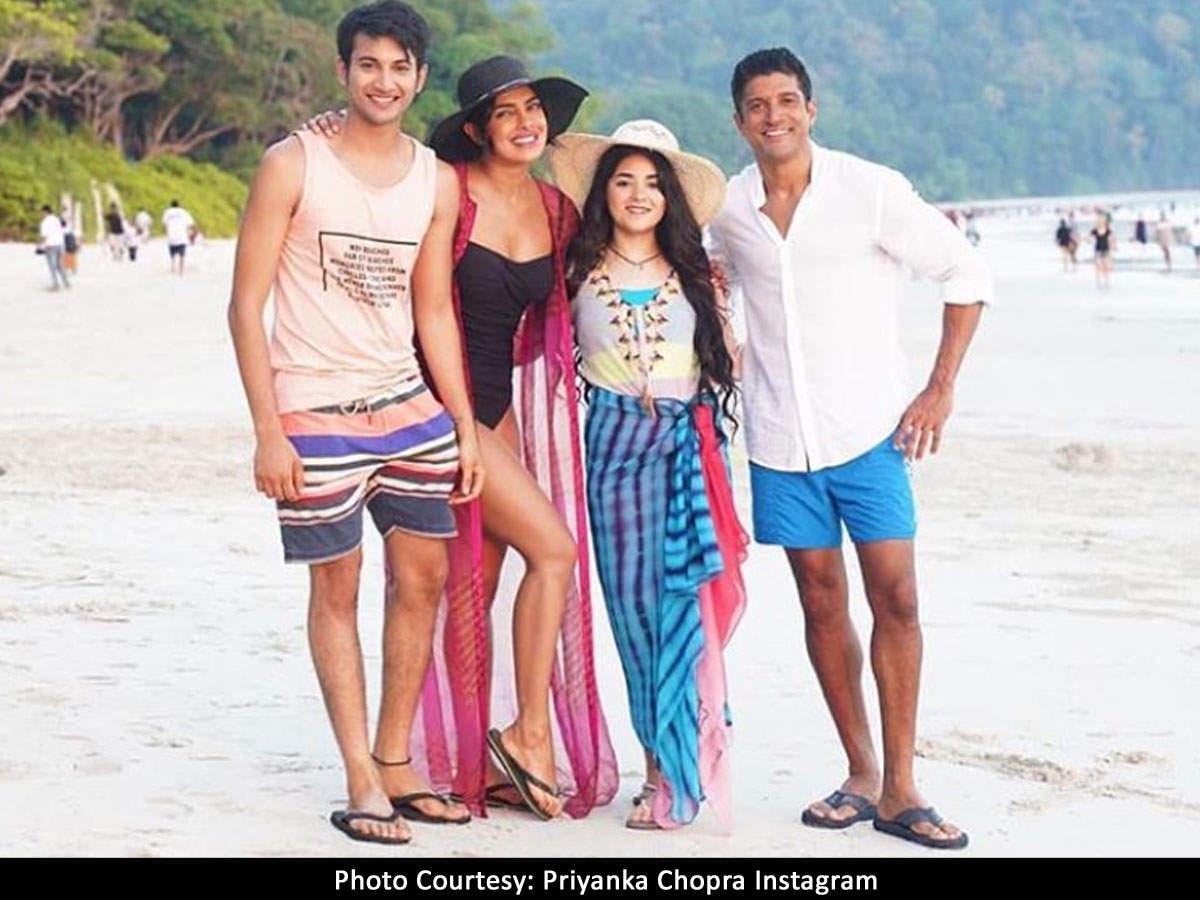 The Sky Is Pink': Priyanka Chopra, Farhan Akhtar and team