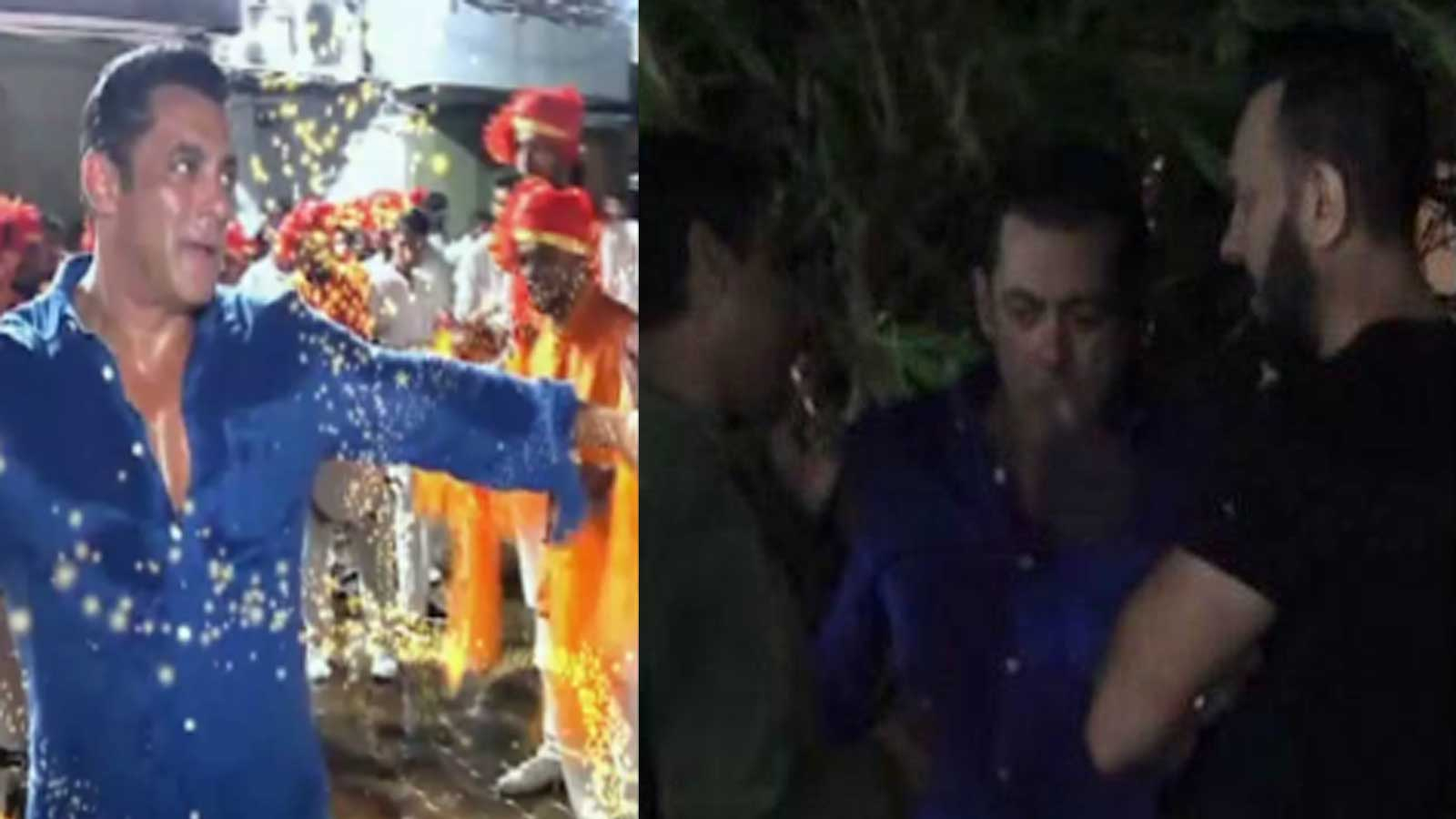 Salman Khan caught smoking at Ganpati Utsav, fans get upset