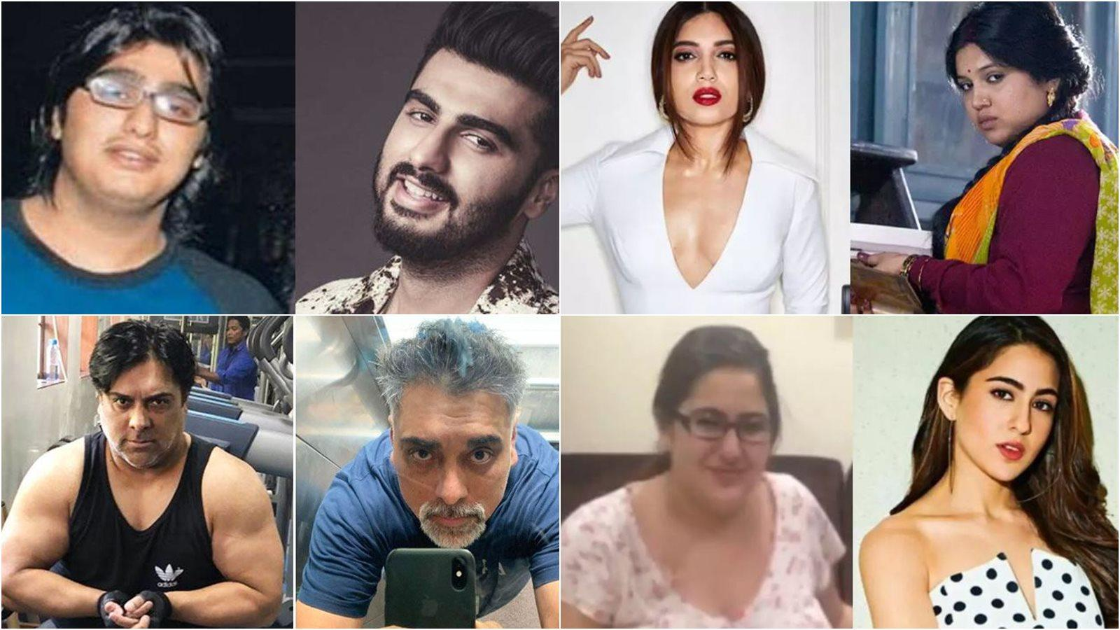 Sara Ali Khan to Arjun Kapoor, Bollywood celebs who underwent jaw-dropping  weight transformations