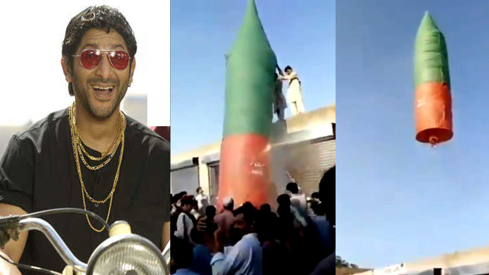 Image result for arshad warsi share pakistani rocket video