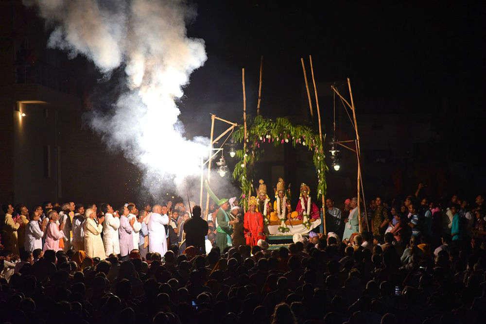 Ramnagar ki Ramlila in Varanasi is the oldest in the world! Details here